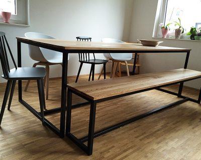 Stół Industrial