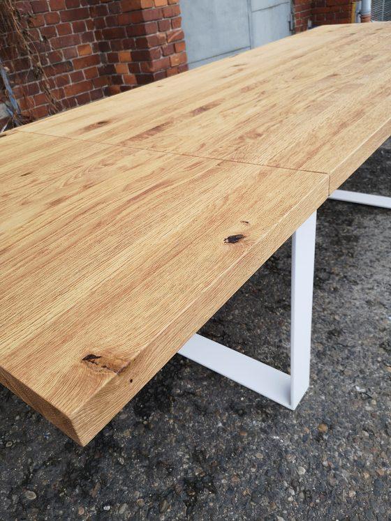 stół, biurko, stół konferencyjny, loft, meble loftowe, meble industrialne, industrial, stół rozkładany, system rozkładany, prowadnice
